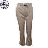 Manufacture of khaki long trousers trousers store waist position lock design