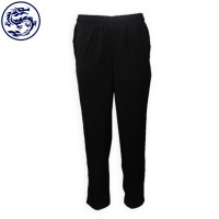 custom-made black long trousers