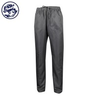 custom-made trousers overalls full elastic band rope trousers garment factory