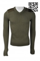Homemade men's sweaters Uniform group Design V-neck sweater style Sweater franchise sweater factory hong kong