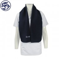 Printed Stained Scarf Making Embroidered LOGO Scarf Designing Fleece Scarf Wholesaler