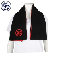 Making Knitted Scarves Contrast 45% Cotton 55% Poly Bank Promotions Gifts Scarf Manufacturers