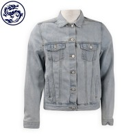 making light blue denim jacket denim supplier
