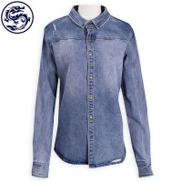 Design Women's Denim Jacket Slim Body Jeans Manufacturer
