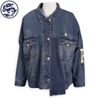making edging denim jacket cuff zipper denim manufacturer