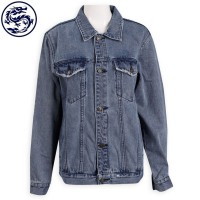 custom blue denim jacket denim garment factory