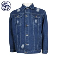 Design Hole Denim Jacket Print Logo Singing Competition School Cowboy Jacket Maker