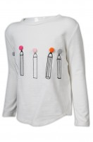 Custom-made children's long sleeve T-shirt