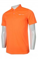 Order Polo shirt orange clean color short