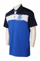 Custom men's short sleeve POLO shirt design trainer embroidered LOGO POLO shirt