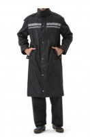 Online ordering of double hat brims and knee-length raincoats