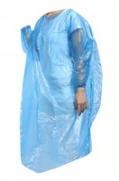 Online ordering of disposable hooded raincoats