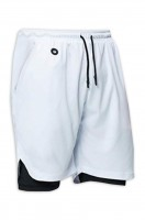 Custom-made running shorts with quick-drying and tight design double-layer five-part pants to prevent running light