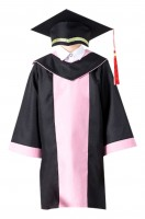 Custom-made graduation gown