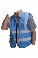 Customized reflective vest overalls