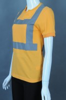 Customized reflective strip safety industrial uniform