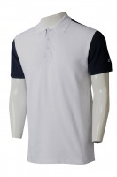 Manufacturing short-sleeved POLO shirt