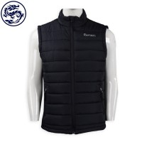 design quilted zip vest jacket down jacket supplier