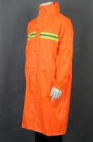 Customized orange over-the-knee rain uniform