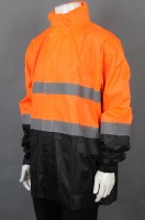 Custom-made long-sleeved patchwork rain uniform