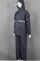 Order black long-sleeved suit and rain coat uniform online