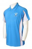 Custom Polo shirt contrast sleeve lapel color matching trading company